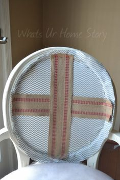 Whats Ur Home Story: How to reupholster a chair