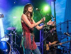 Nicki Bluhm & The Gramblers perform during Mountain Jam Festival in Hunter, N.Y., June 5. (Jay Blakesberg)