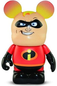 Vinylmation Pixar Series 1 Bob/ Mr. Incredible, The Incredibles
