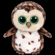 "Ty Beanie Boos SAMMY The Brown Owl 6"" Plush New Release"