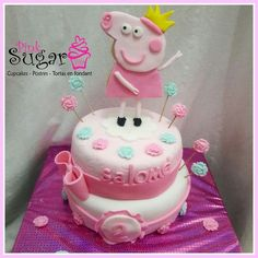 Torta Pepa pig  pinksugar #pinksugar #cupcakes  #homemade  #casero  #barranquilla #pasteleria #reposteriacreativa #tortas #fondant #reposteriabarranquilla #happybirthday  #cake #baking  #galletas #cookies  #pinksugar #wedding #buttercream #vainilla #minion #oreo #passionfruit #cupcakesbarranquilla #brownie #brownies #chocolate #teamo #amoryamistad #amor #peppapig #pepa