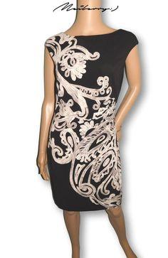 e66562bd302a (❛‿❛❀💙)Women Ralph Lauren Blue Floral Print Jersey Knit Dress Size 4 NEW # RalphLauren #StretchBodycon #Cocktail