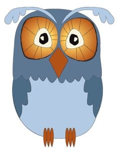 I challenged myself to create an owl with fewer geometric shapes. From owladay.wordpress.com