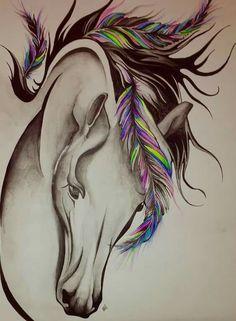 Pferdetattoo Mehr Source by yldbrk Horse Drawings, Animal Drawings, Art Drawings, Unicorn Tattoos, Animal Tattoos, Horse Tattoos, Whale Tattoos, Tatoos, Tribal Horse Tattoo
