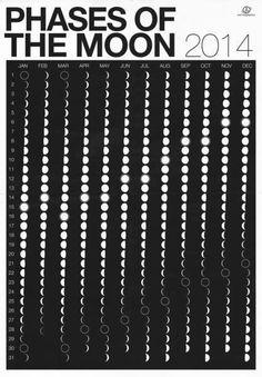 Calendário Lunar 2014