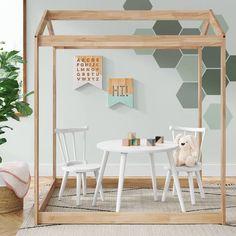 Delta Children Homestead Playhouse - Natural - image 2 of 5 Playroom Furniture, Playroom Decor, Playroom Ideas, Playroom Paint, Playroom Table, Playroom Layout, Playroom Flooring, Kid Decor, Playroom Design