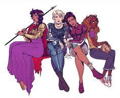 Reyna, Annabeth, Piper, Hazel #heroesofolympus