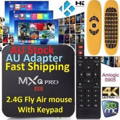 MXQ Pro 4K 2106 Exodus Android TV Box KODI+Fly Air Mouse/Keypad | Other Computers & Software | Gumtree Australia Manningham Area - Doncaster | 1117853256