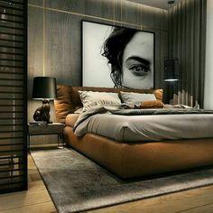 Awesome Minimalist Bedroom Design Ideas - Home Design Modern Luxury Bedroom, Luxury Bedroom Design, Modern Master Bedroom, Home Room Design, Master Bedroom Design, Minimalist Bedroom, Luxurious Bedrooms, Home Decor Bedroom, Home Interior Design