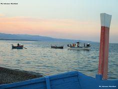 Calabria 16 agosto 2016,i colori del tramonto sullo ionio dalla spiaggia dei pescatori! Ph. Salvatore Martilotti