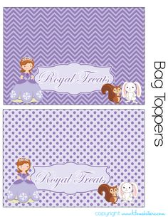 Courtney LOVES Sofia the First. Carson even likes her. Ah heck, so do I. So when I decided to put together a set of Free Party Printables for our readers, I decided to go ahead and do a Sofia th… Sofia The First Birthday Party, First Birthday Party Decorations, Sofia Party, Party Printables, Free Printables, Mickey Mouse Parties, Mickey Mouse Birthday, Toy Story Party, Toy Story Birthday