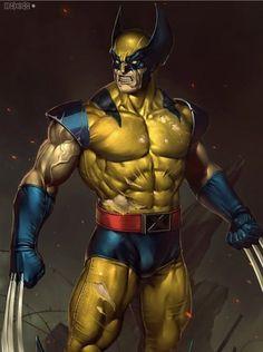 Marvel Dc Comics, Wolverine Comics, Marvel Comic Universe, Marvel Art, Marvel Heroes, Comics Universe, Wolverine Tattoo, Logan Wolverine, Superhero Cartoon
