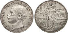 NumisBids: Numismatica Varesi s.a.s. Auction 65, Lot 707 : SAVOIA - VITTORIO EMANUELE III (1900-1946) 5 Lire 1911 Roma...