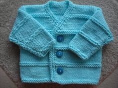 Ravelry: Project Gallery for Garter Ridge Baby Cardigan #70301AD pattern by Sarah Hoadley