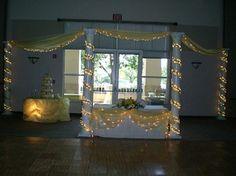 pictures of wedding pillars decorated | Wedding Reception Decorations | Decorations | Fabrics | Wedding ...