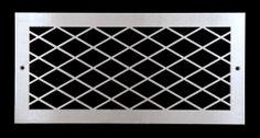 Diamond vent grille