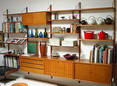 Poul Cadovius Danish Royal Shelving System IN Teak Retro Eames ERA in Mullumbimby, NSW | eBay