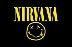 "With the upcoming release of Kurt Cobain: ""Montage of Heck"" how well do you know the grunge rock band Nirvana? Nirvana Logo, Nirvana Shirt, Nirvana Tattoo, Nirvana Lyrics, Overlay Tumblr, Rockband Logos, Kurt Cobain, Logo Geometric, Heavy Metal"