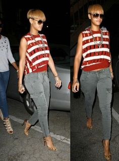 Rihanna in Alexander Wang Tank 942fd6826ee8