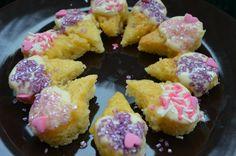 Mini Ice Cone Cookies:)