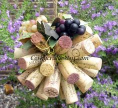 Vineyard wedding, kissing ball/ flower girl bouquet/vineyard decor, Tuscany theme. $12.00, via Etsy.