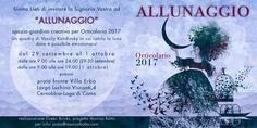 SAVE THE DATE_ Allunaggio ad Orticolario 2017 | grafica by Fausto Bianchi