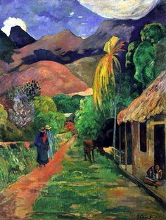 Gauguin a Tahiti
