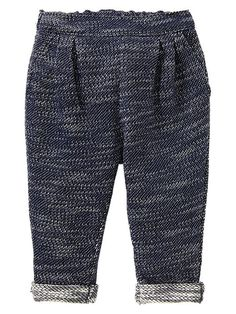 Gap | Textural French terry pants