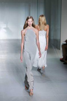 Karlie Kloss, Calvin Klein spring 2008 runway show. Photo by Mark Mainz/Getty…