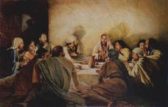 Jesus Christ Became Our Passover Lamb Many Christians are not aware, but the highest Holy Day in Christianity is Passover, not the pagan festival of Easter. The word Passover in the Bible comes from the time. Catholic Pictures, Jesus Pictures, Bible Pictures, Christian Ronaldo, Jesus Last Supper, Last Supper Art, Lords Supper, Image Jesus, Maundy Thursday