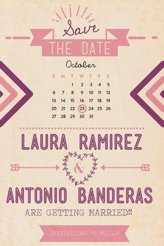 save the date | reserva la fecha