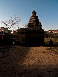 An old stone temple at Wai, Maharashtra. India