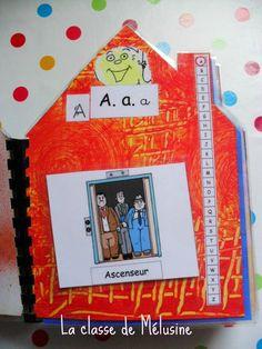 ABC de la maison... La fiche de préparation Language Activities, Activities For Kids, Grande Section, Abc Alphabet, Teacher Hacks, Montessori, Literacy, Kindergarten, Homeschool