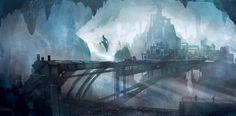 Underground City by nkabuto on deviantART