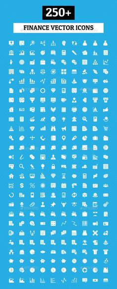250+ Finance Vector Icons