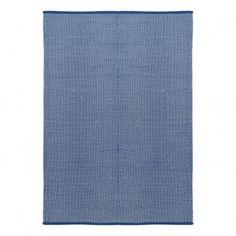 Teppich aus Baumwolle Dots  Blau  Liv Interior