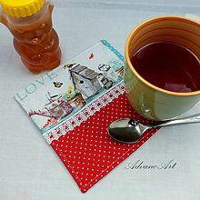 Úžitkový textil - Podšálka Home II. - 6671893_