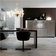 MINIMAL KITCHEN CABINETRY designed by Poliform. Available through Switch Modern.