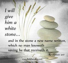 revelation 2 17 white stone - MOR
