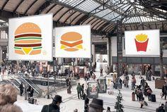 McDonalds Minimalist Posters Campaign