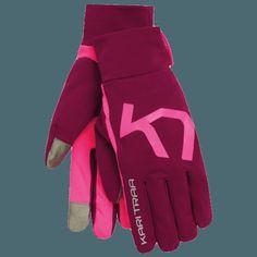 Kari Traa Dame Myrblå træningshandske Boho Fashion, Gloves, Feminine, Workout, Sport, Clothes For Women, Stuff To Buy, Style, Women's