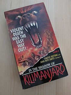 In the Shadow of Kilimanjaro [VHS]  http://www.videoonlinestore.com/in-the-shadow-of-kilimanjaro-vhs/