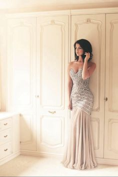 Beautiful, elegant Prom Dress by Lucy Meck at Lucy's Boutique