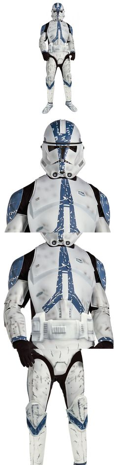 Men 52762: Deluxe Clone Trooper Star Wars Adult Men Imperial Stormtrooper Halloween Costume -> BUY IT NOW ONLY: $66.69 on eBay!