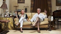 Steph and Dom, the posh couple - Gogglebox. Love love love them!