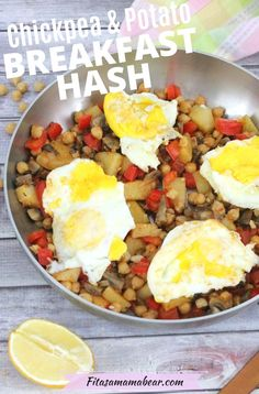Full of flavor, this healthy breakfast hash recipe is the perfect way to kick off the weekend! Dairy-free, gluten-free, and with a paleo option. This egg-based breakfast hash is comforting and filling. #breakfastideas #healthybreakfastrecipes #breakfasthash #potatorecipes #dairyfreerecipes #eggrecipesforbreakfast Breakfast Hash, Clean Eating Breakfast, Egg Recipes For Breakfast, Breakfast Potatoes, Dairy Free Recipes, Gluten Free, Healthy Recipes, Ways To Cook Eggs, Hash Recipe