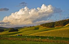 Clouds to fit the Catlins Landscape, see more, learn more, at New Zealand Journeys app for iPad www.gopix.co.nz