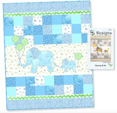 Mommy & Me Elephant Quilt Pattern by QP Designs QP1401