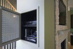 AV Cabinet Hidden, Maryland Remodeling by summitdesignremodeling, via Flickr