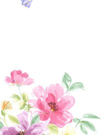 Pink Cluster of Flowers Wallpaper